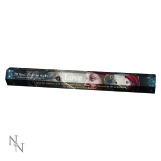 Lisa Parker Spell Incense Sticks (Räucherstäbchen) Single Pack mit 20 Stäbchen Rote Rose/Red Rose