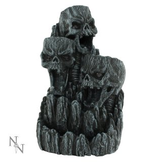 Skulltower Backflow Incense Burner Set ca.18cm hoch, mit 20 Incense Cones.
