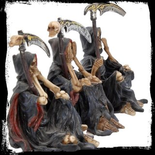 Something Wicked - Set of 3 Reapers by Nemesis Now